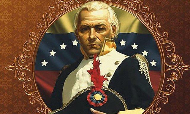 Es nombrado Jefe del Ejército patriota de Venezuela.