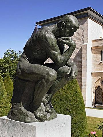 El pensador d'Auguste Rodin.