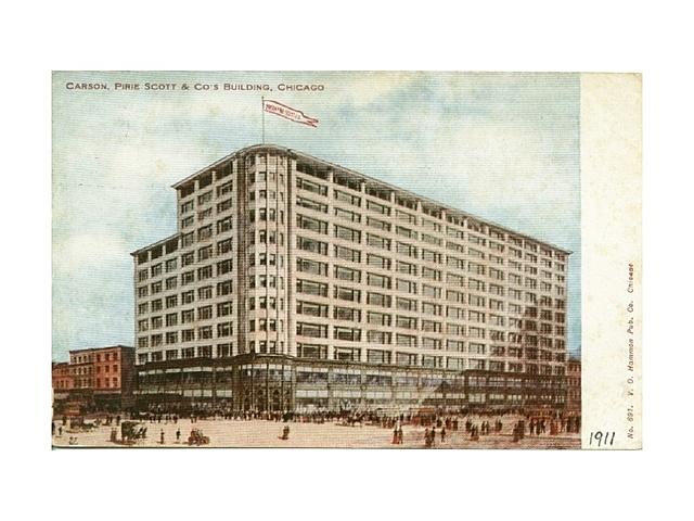 Edifici magatzems Carson de Louis Sullivan