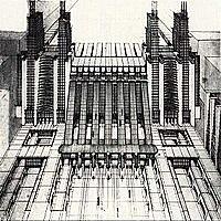 Aparició de l'estil Internacional o racionalisme arquitectònic.