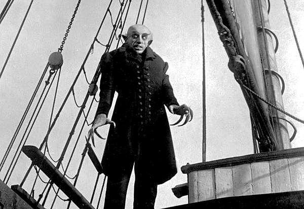 Nosferatu de Fiedrich Murnau.