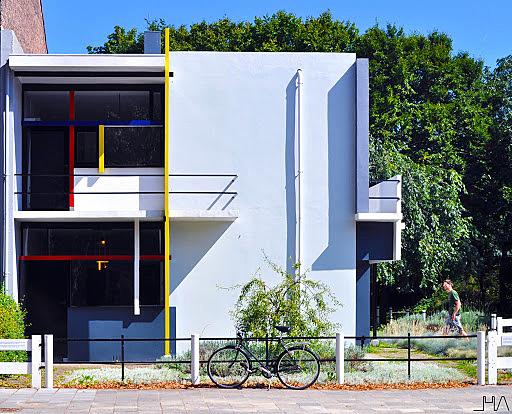 Casa Schöder de Gerrit Rietveld.