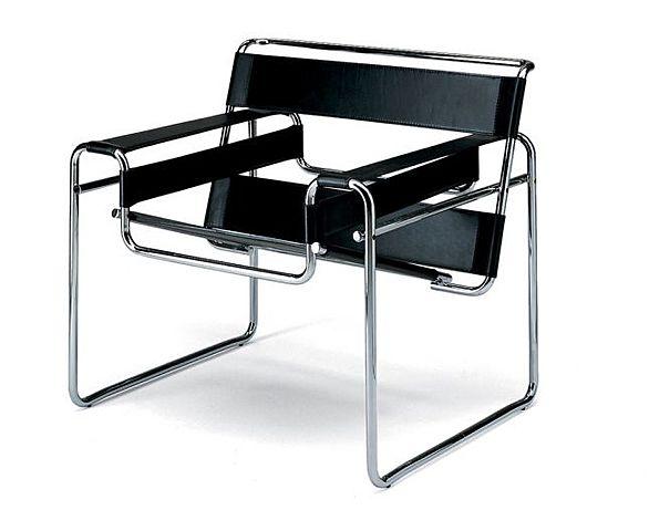 Cadira Wassily o Model B3 de Walter Breuer.