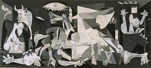 El Gernika de Picasso.
