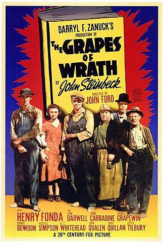The grapes of wrath (El raïm de la ira) pel·lícula de John Ford.