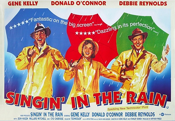 Estrena de la pel.lícula Singing in the rain.