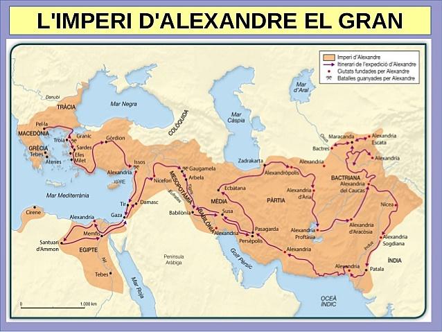 Mort d'Alexandre el Gran