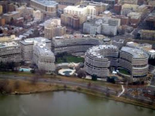 Watergate Scandal Begins
