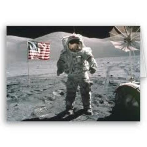 Last man in the moon