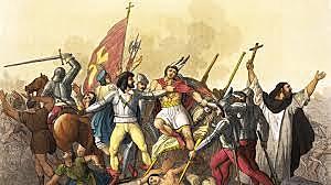 Francisco Pizzaro conquered the Inca Empire