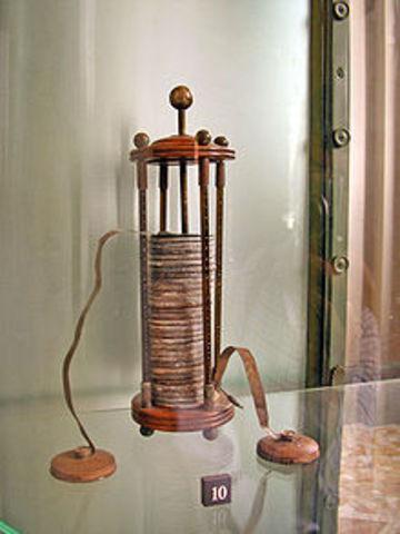 Alessandro Volta's Battery