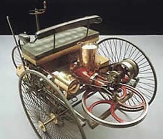 Karl Benz's Internal Combustion Automobile