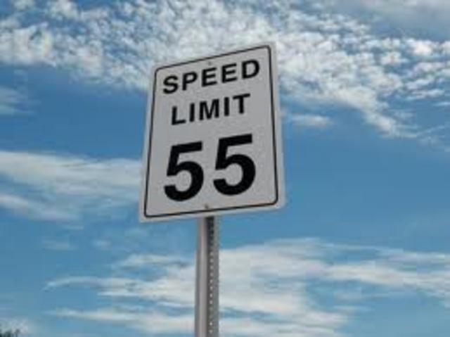 National speed limits 55