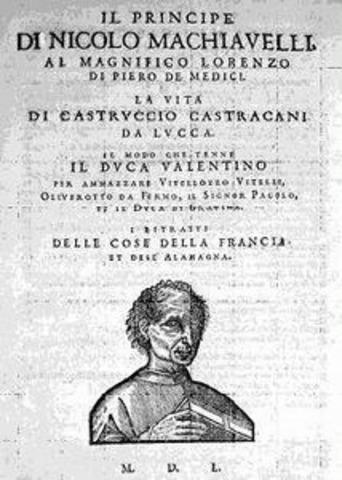 "Niccolò Machiavelli's ""The Prince"""