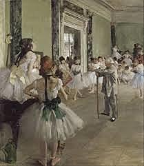 Classe de ballet, Degas