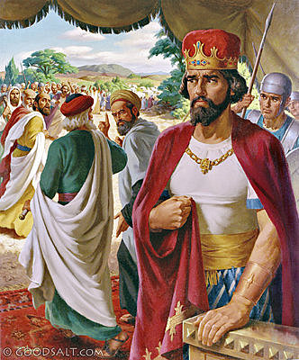 Rehoboam becomes king