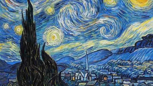 La nit estelada, Van Gogh