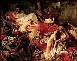 La mort de Sardanapalus, Delacroix