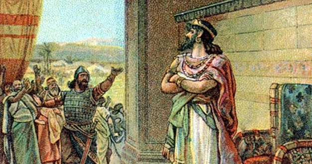Rehoboam heeds the advice of the young men