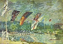 La regata, Sisley