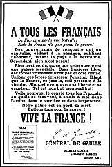 Déclaration de la Guerre de la France et l'Angleterre.