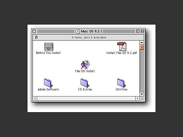 Mac OS 9.2.1