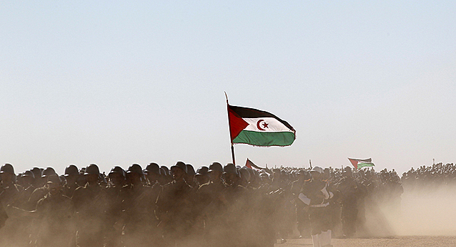 Fronte  Polisarioak lehen ekintza  armatua