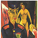 Self-Portrait as a Soldier, Kirchner