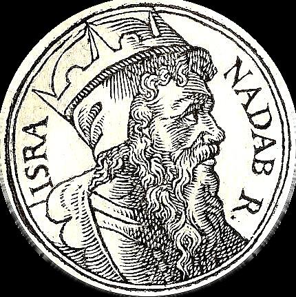 Nadab becomes king of Israel