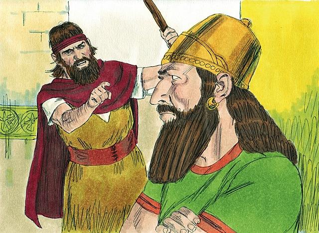Ahab becomes king of Israel