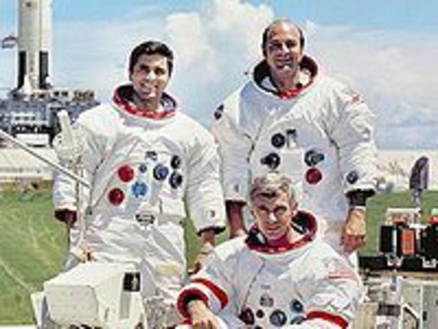 Apollo 17's Return from the Moon
