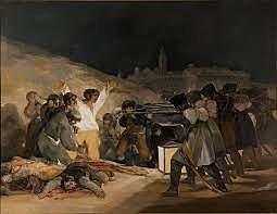 Els afusellaments del 3 de Maig de 1808 Goya