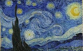 Nit estrellada de Vincent Van Gogh