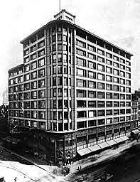 Edifici magatzems Carson de Louis Sullivan, Escola de Chicago