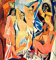Picasso pinta Les senyoretes d'Avinyó