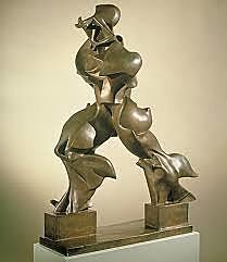 Formes úniques de continuïtat en l'espai, escultura futurista d'Umberto Boccioni