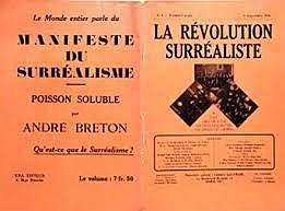 Manifest surrealista per André Breton