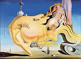 El gran masturbador de Salvador Dalí