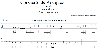"Composició musical ""El concierto de Aranjuez"""