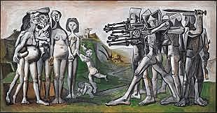 La massacre de Corea de Pablo Picasso
