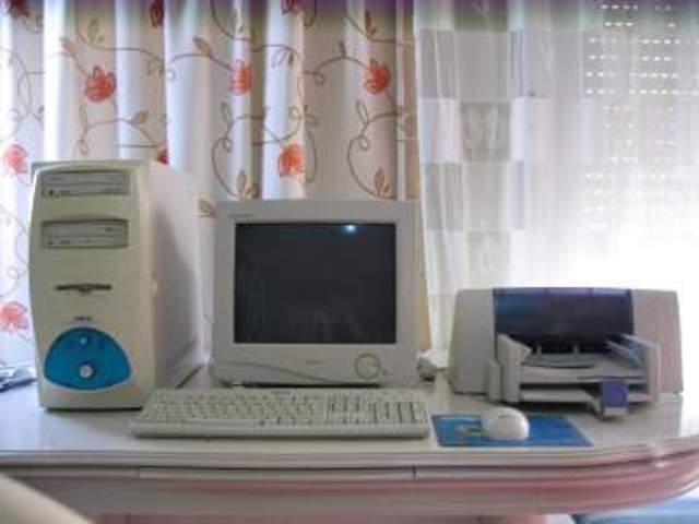 mi primer ordenador en el año 2000