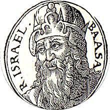 Baasha crowned king of Israel