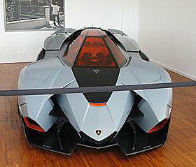 Lamborghini Egoista: Gallardo V10 med 600HP.