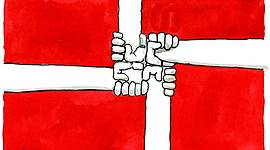 Danmark bliver demokratisk timeline