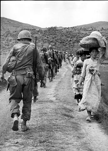 Koreakrigen starter opp