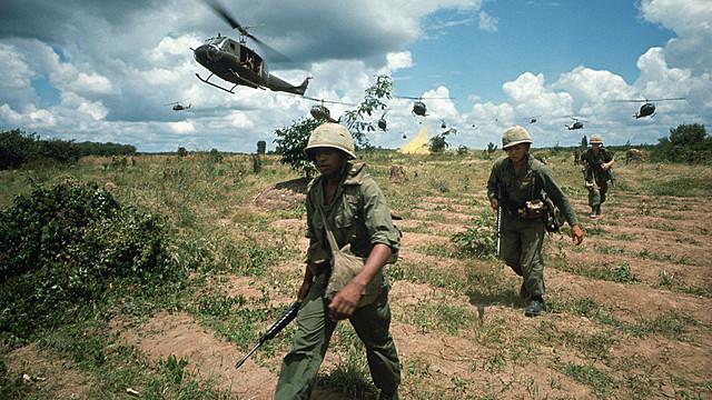 Amerikanske styrker trekkes fra Vietnam