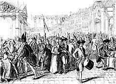 Revolta de les 3 jornades glorioses a París