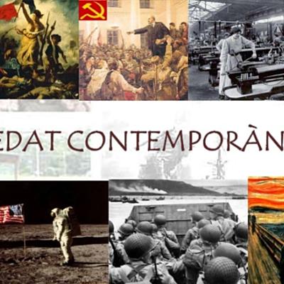 Edat Contemporània timeline