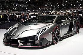 Lamborghini Veneno: Adventador SV V12 med 740 HP.