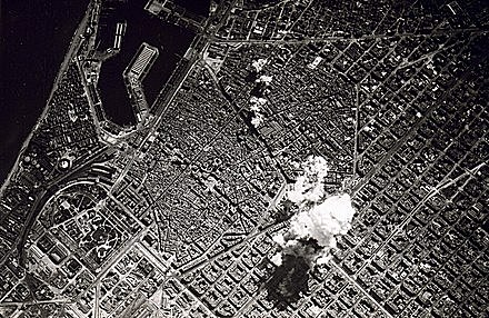 Bombardeig de la població basca de Gernika durant la Guerra Civil Espanyola